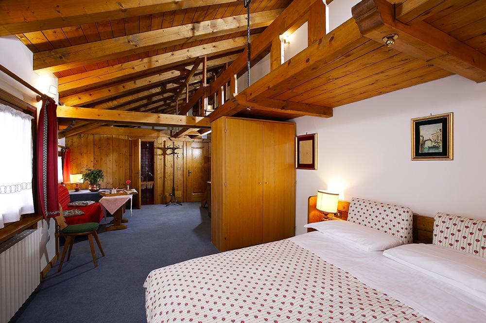camere villa oretta albergo tre stelle Cortina