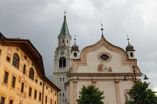 Basilica Filippo Giacomo Apostoli Cortina d Ampezzo