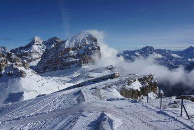 piste della tofane Cortina Ampezzo