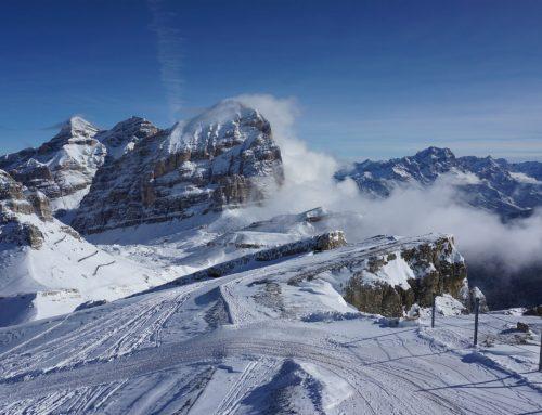 Piste delle Tofane a Cortina
